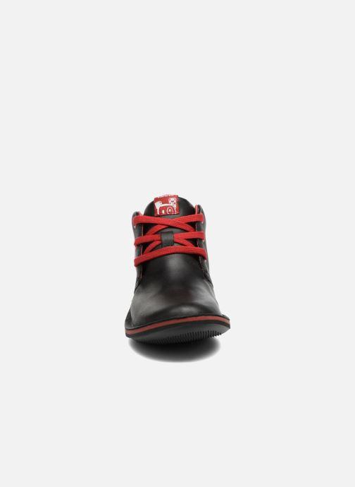 Lace-up shoes Camper Beetle Street Kids Black model view