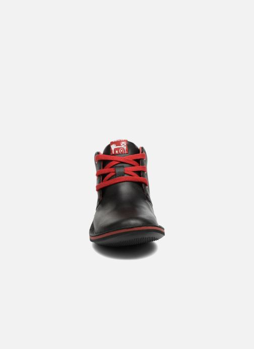 Lace-up shoes Camper Beetle Street Kids Black model view