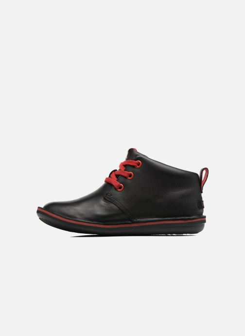 Lace-up shoes Camper Beetle Street Kids Black front view