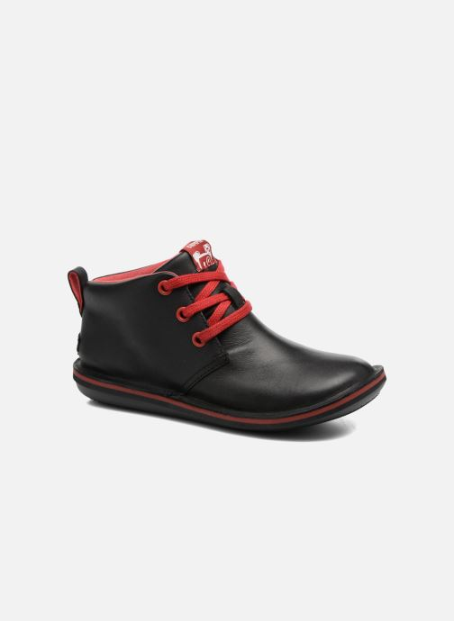 Lace-up shoes Camper Beetle Street Kids Black detailed view/ Pair view