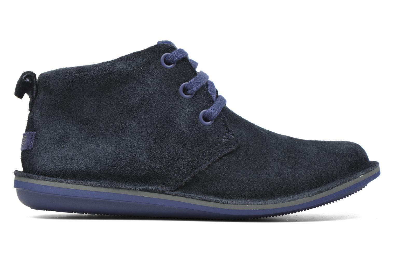 Chaussures à lacets Camper Beetle Street Kids Bleu vue derrière