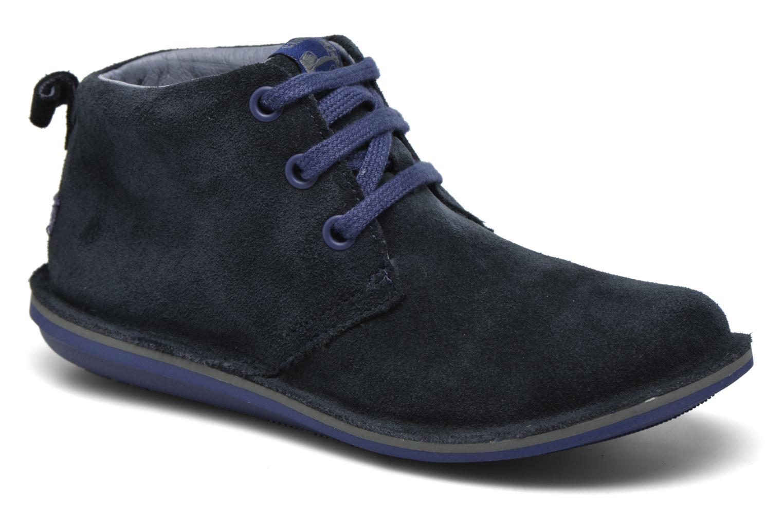 Chaussures à lacets Camper Beetle Street Kids Bleu vue détail/paire