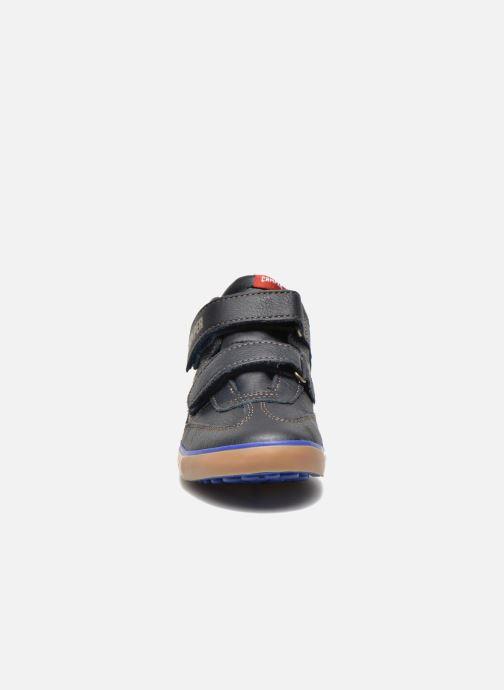 Sneaker Camper Pursuit Mid V blau schuhe getragen