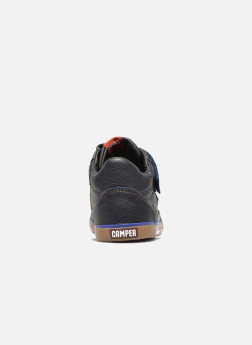 Sneaker Camper Pursuit Mid V blau ansicht von rechts