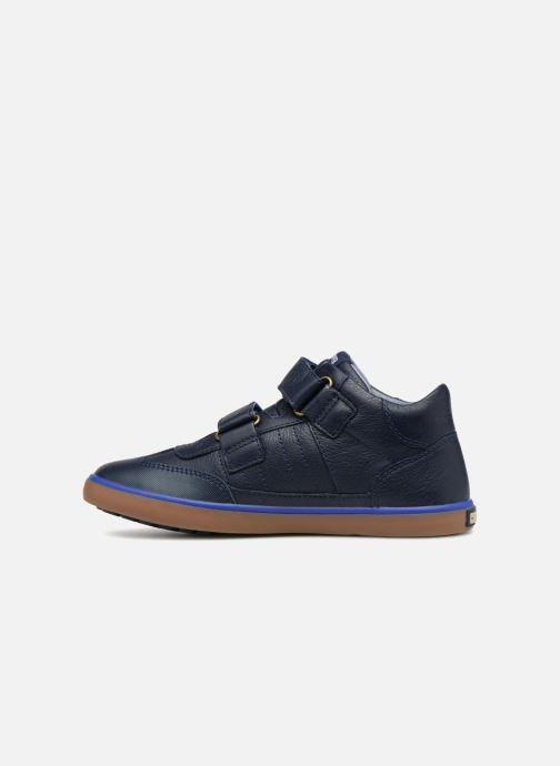 Sneakers Camper Pursuit Mid V Blauw voorkant