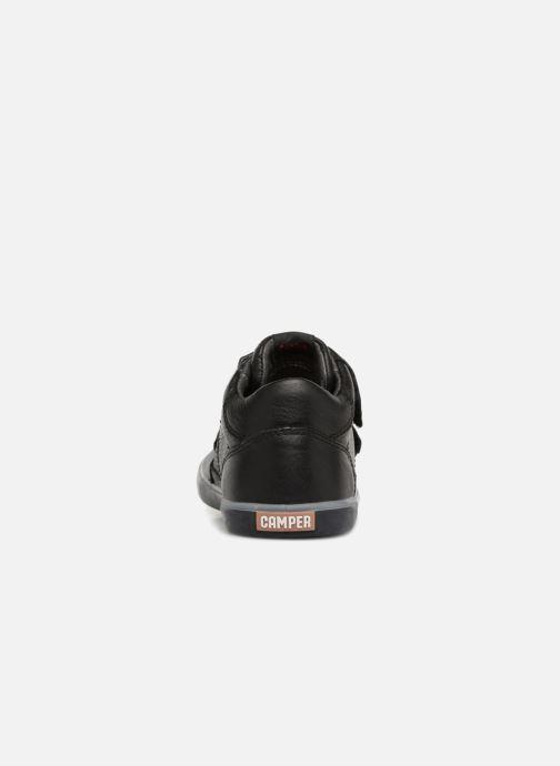 Sneakers Camper Pursuit Mid V Zwart rechts