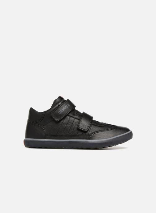 Sneakers Camper Pursuit Mid V Zwart achterkant