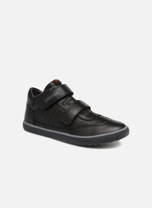 Sneakers Camper Pursuit Mid V Zwart detail