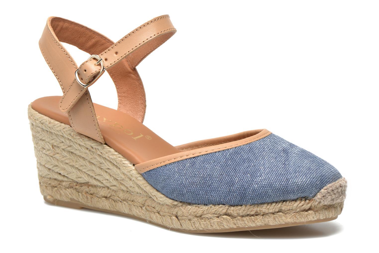 Sandaler Maypol Lolita Blå detaljeret billede af skoene