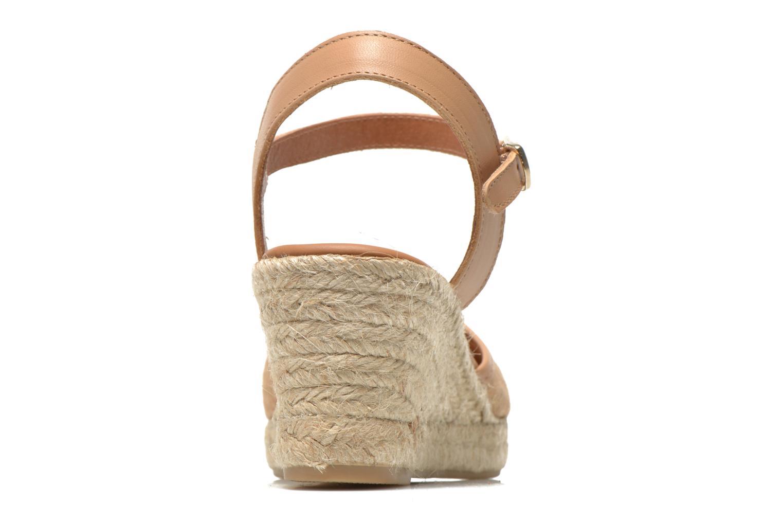 Sandales et nu-pieds Maypol Lolita Marron vue droite
