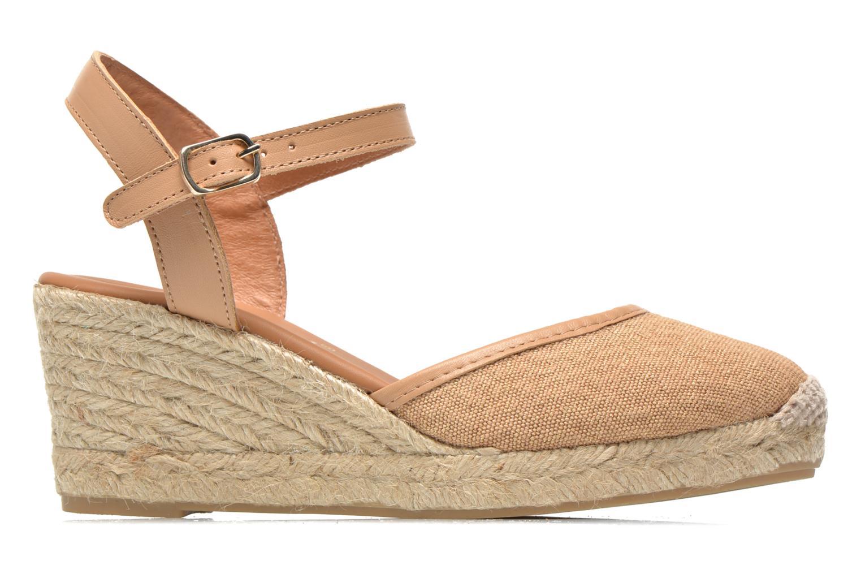 Sandales et nu-pieds Maypol Lolita Marron vue derrière