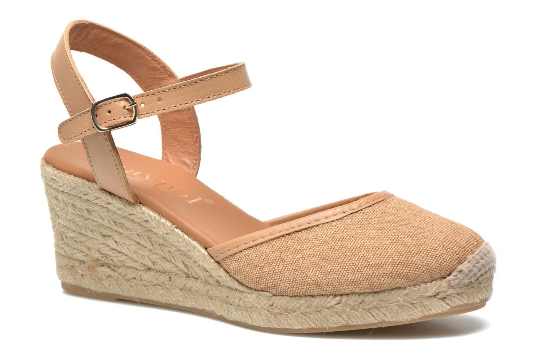 Sandales et nu-pieds Maypol Lolita Marron vue détail/paire