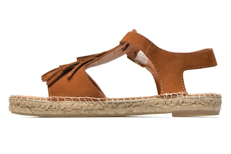 Sandales et nu-pieds Maypol Mohica Marron vue face