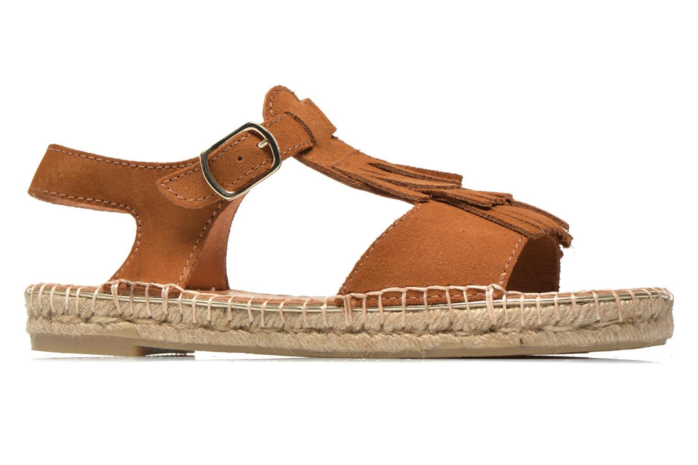 Sandales et nu-pieds Maypol Mohica Marron vue derrière