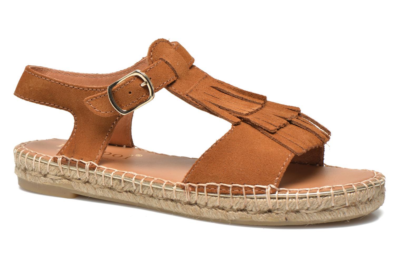 Sandales et nu-pieds Maypol Mohica Marron vue détail/paire