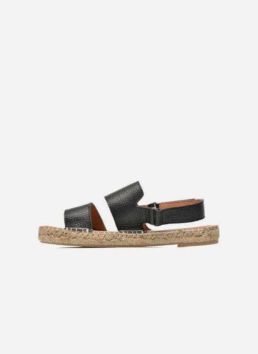 Sandali e scarpe aperte Maypol Moss Nero immagine frontale
