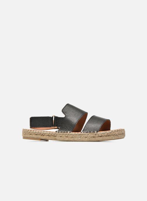 Sandali e scarpe aperte Maypol Moss Nero immagine posteriore