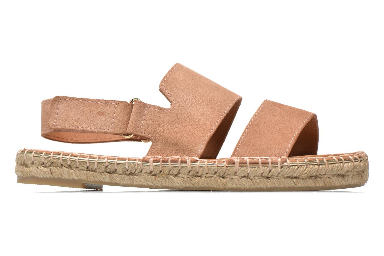 Sandales et nu-pieds Maypol Moss Beige vue derrière