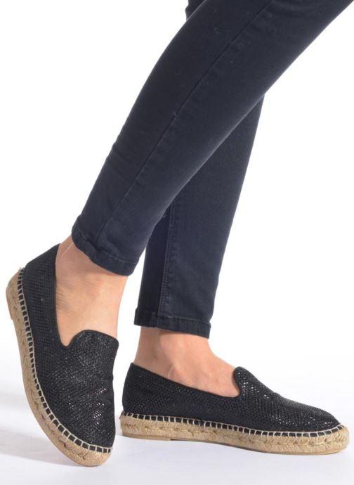 Scarpe di corda Maypol Susan Nero immagine dal basso