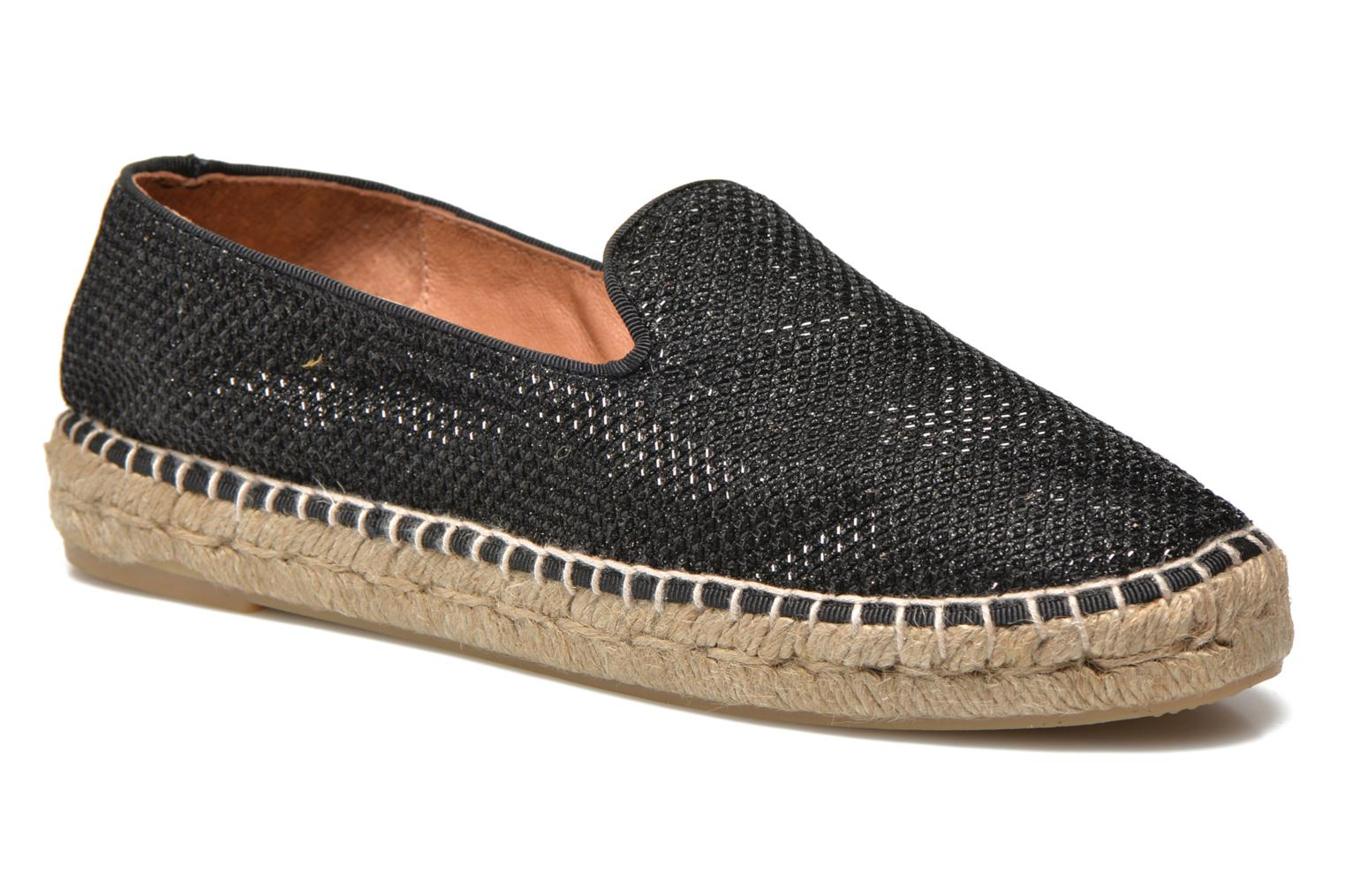 Espadrilles Maypol Susan Black detailed view/ Pair view