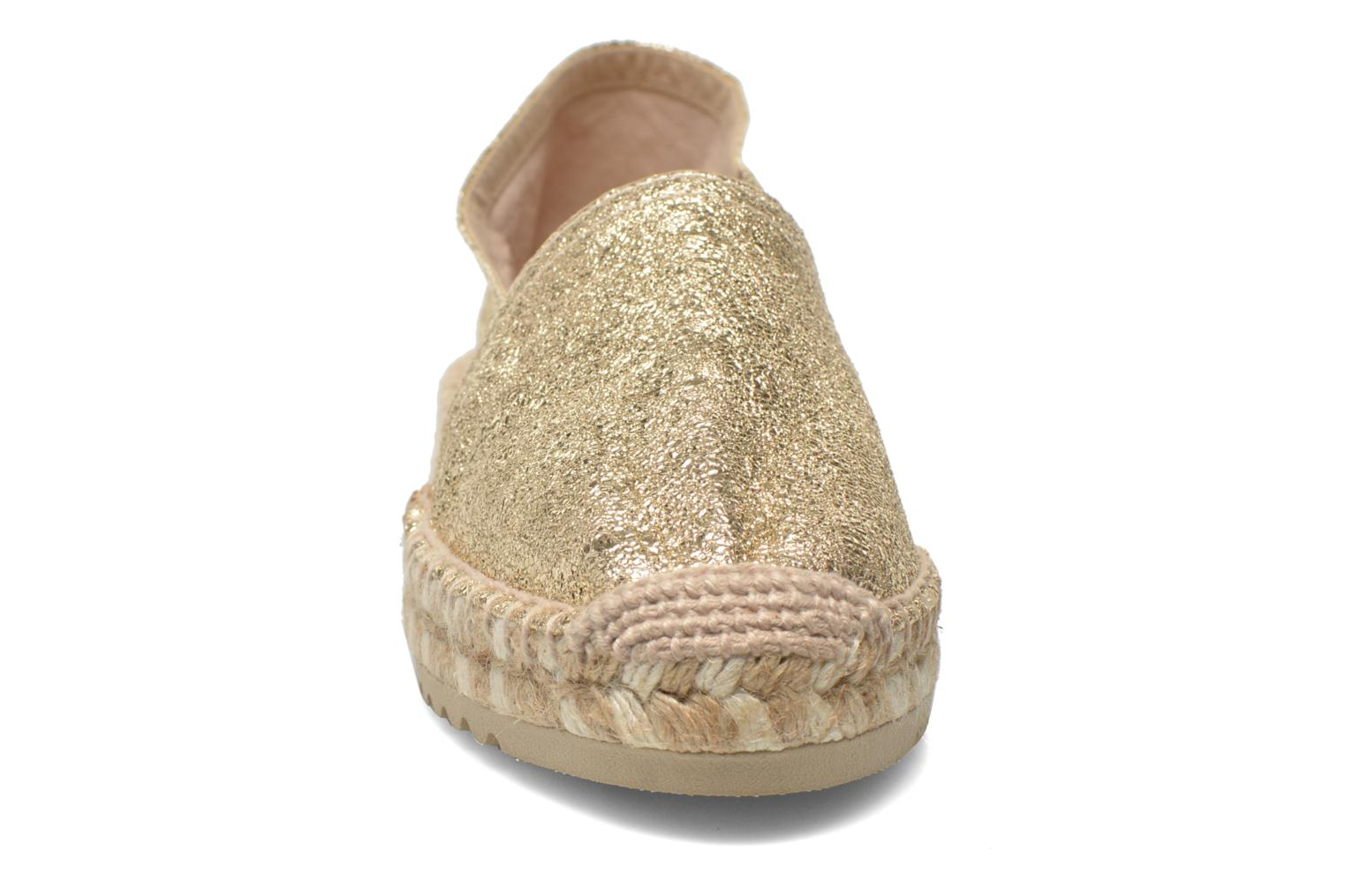 Espadrilles Maypol Samba Bronze and Gold model view