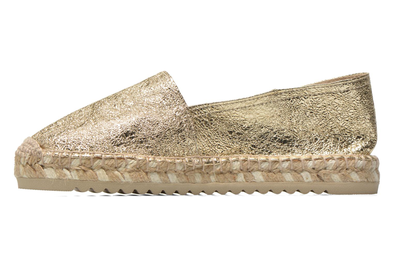 Espadrilles Maypol Samba Bronze and Gold front view