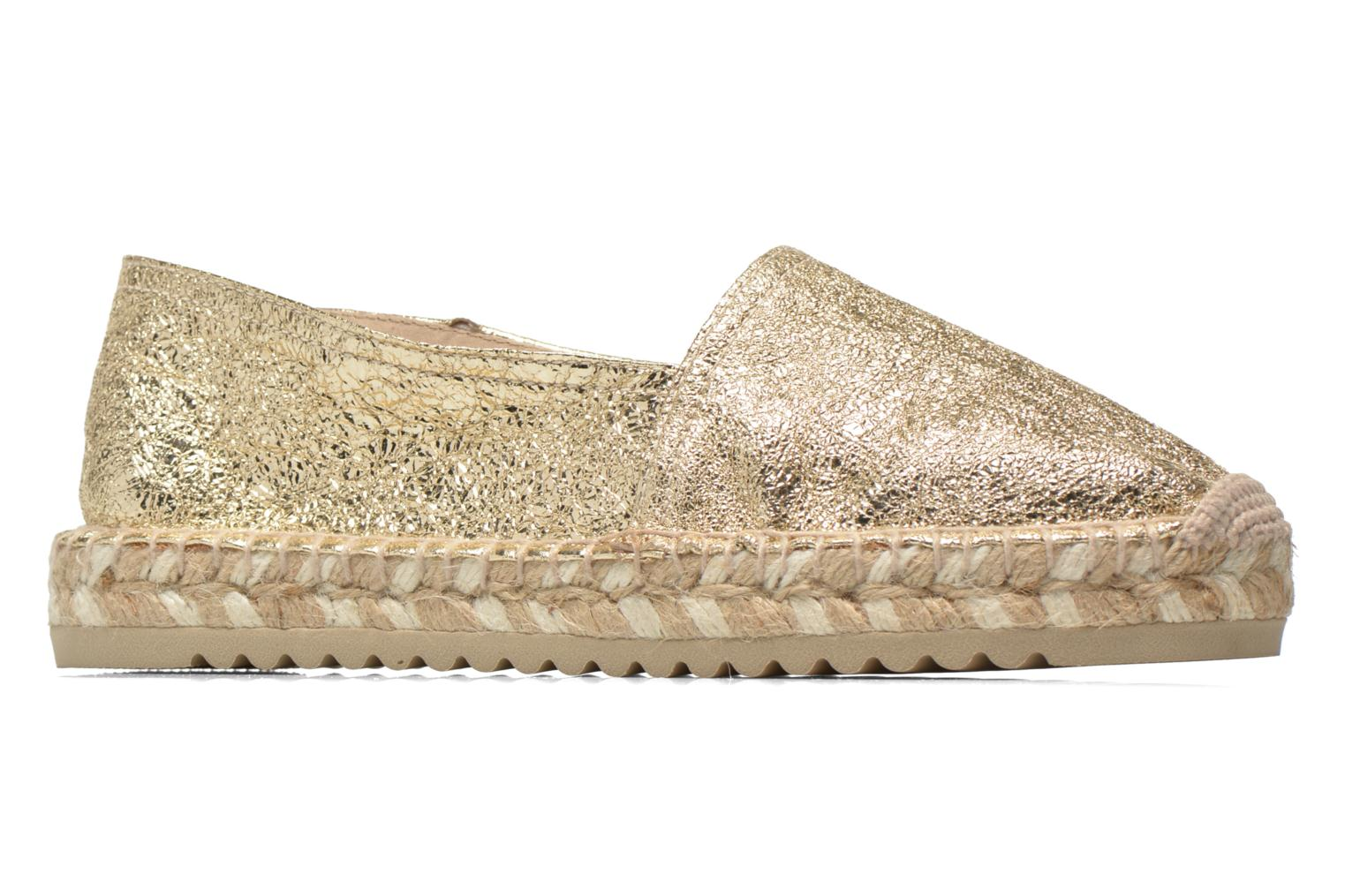 Espadrilles Maypol Samba Bronze and Gold back view