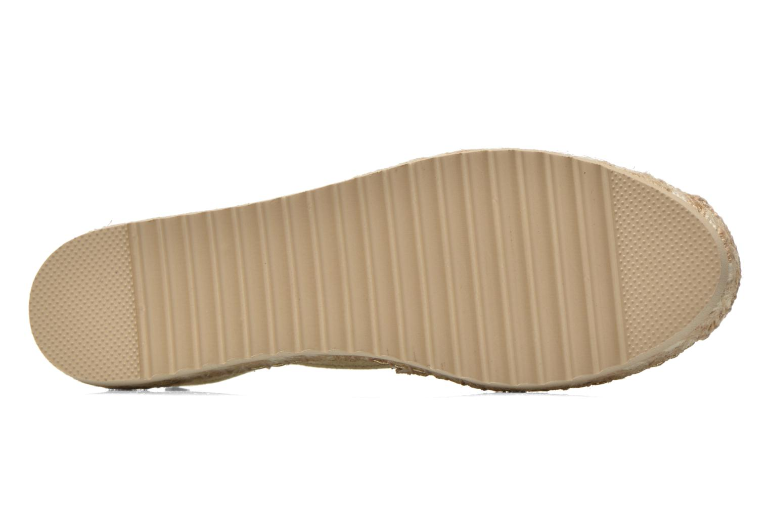 Espadrilles Maypol Samba Bronze and Gold view from above