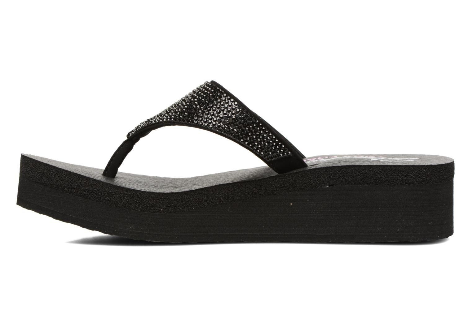 Tongs Skechers Vinyasa Noir vue face