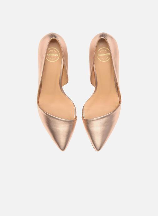 Escarpins Made by SARENZA Loulou au Luco #3 Rose vue portées chaussures