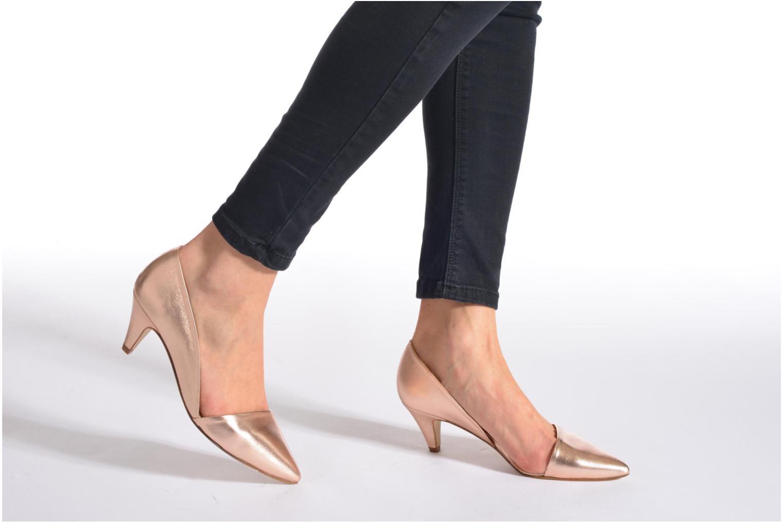 Zapatos de tacón Made by SARENZA Loulou au Luco #3 Rosa vista de abajo