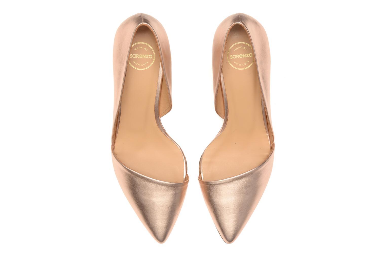 Zapatos de tacón Made by SARENZA Loulou au Luco #3 Rosa vista del modelo
