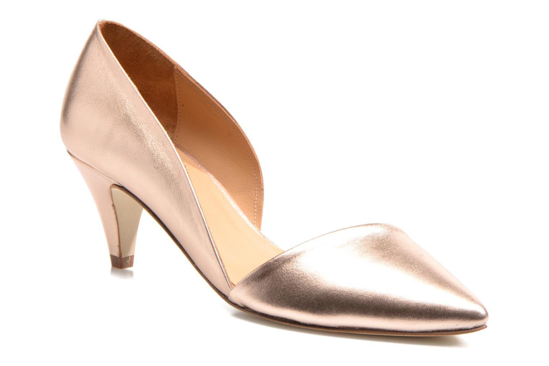 Zapatos de tacón Made by SARENZA Loulou au Luco #3 Rosa vista lateral derecha