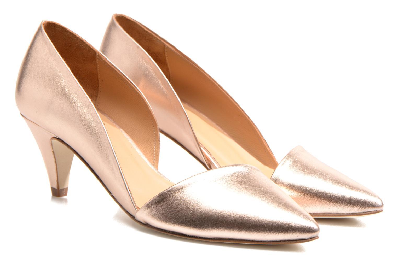 Zapatos de tacón Made by SARENZA Loulou au Luco #3 Rosa vistra trasera