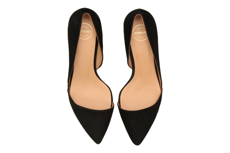 Zapatos de tacón Made by SARENZA Loulou au Luco #3 Negro vista del modelo