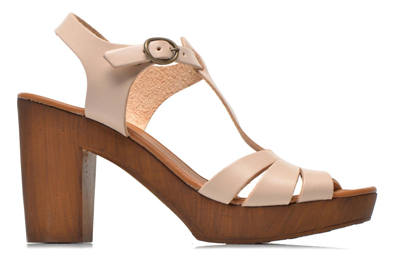 Sandales et nu-pieds Georgia Rose Dobois Beige vue derrière