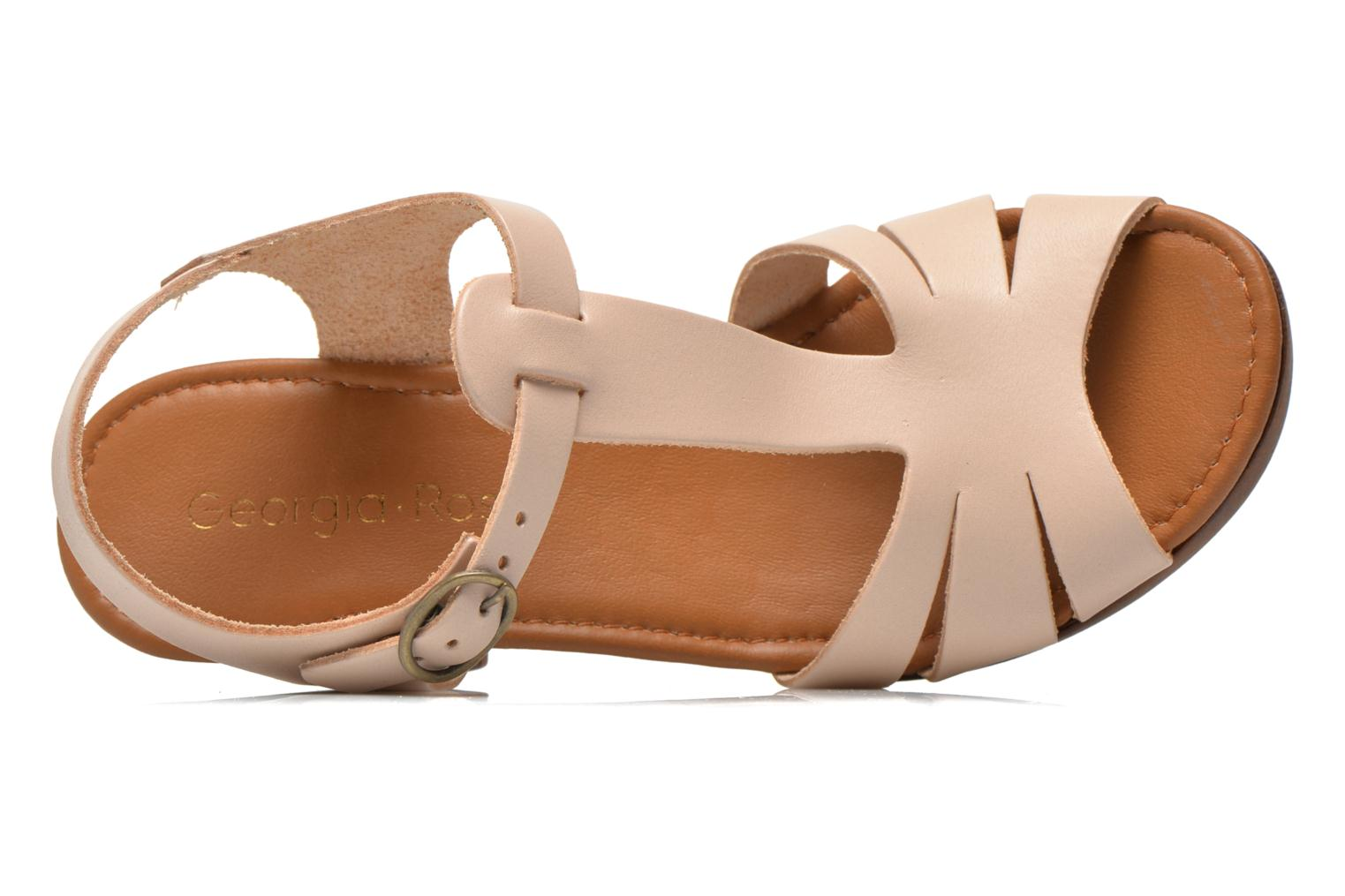 Sandals Georgia Rose Dobois Beige view from the left