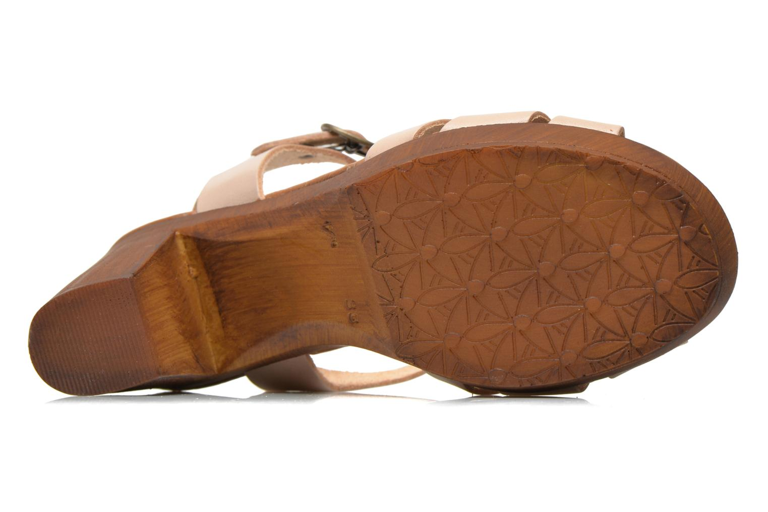 Sandals Georgia Rose Dobois Beige view from above