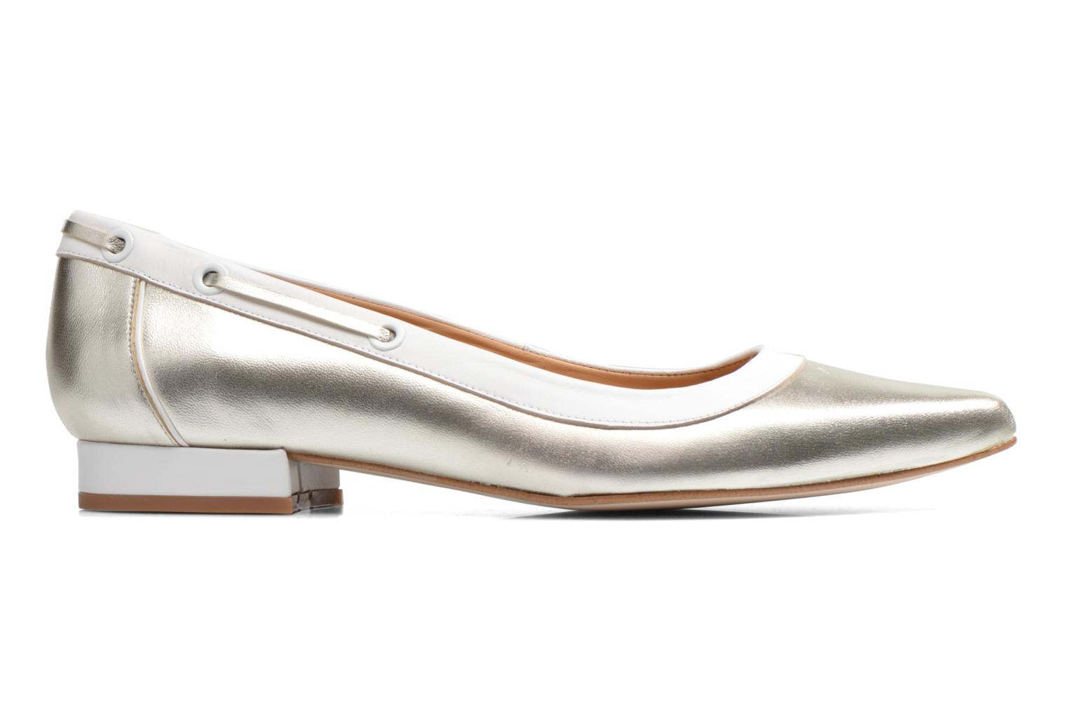Ballet pumps Made by SARENZA Parasols de Paris #5 Silver detailed view/ Pair view