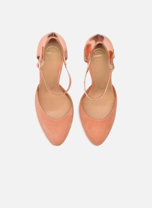 Escarpins Made by SARENZA Loulou au Luco #2 Rose vue portées chaussures