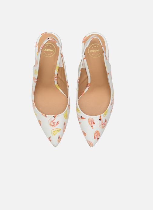 Escarpins Made by SARENZA Glaçons citrons #1 Multicolore vue portées chaussures