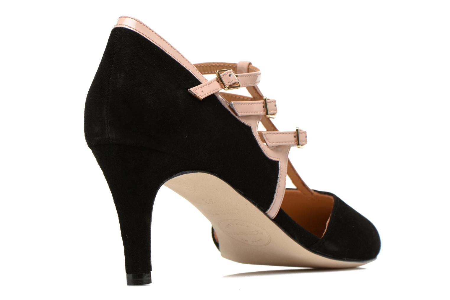High heels Made by SARENZA Loulou au Luco #4 Black front view