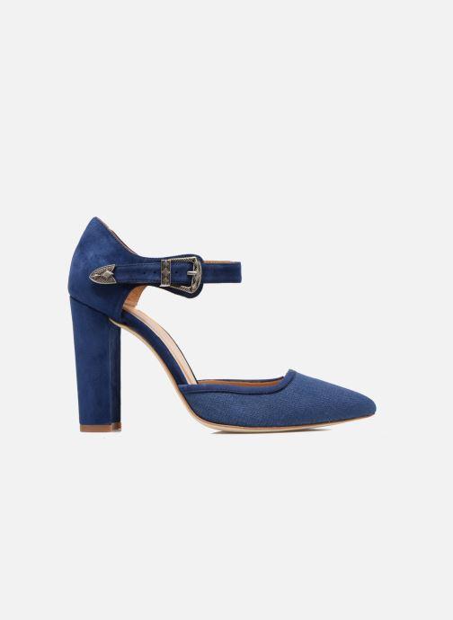 Escarpins Made by SARENZA Western Fever #4 Bleu vue détail/paire