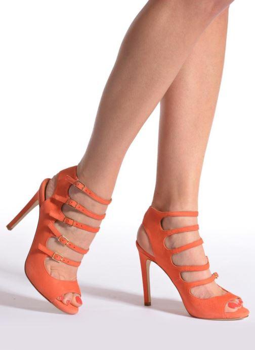 Sandalias Made by SARENZA Loulou au Luco #7 Naranja vista de abajo