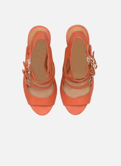 Sandalias Made by SARENZA Loulou au Luco #7 Naranja vista del modelo