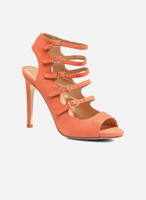 Sandalias Made by SARENZA Loulou au Luco #7 Naranja vista lateral derecha