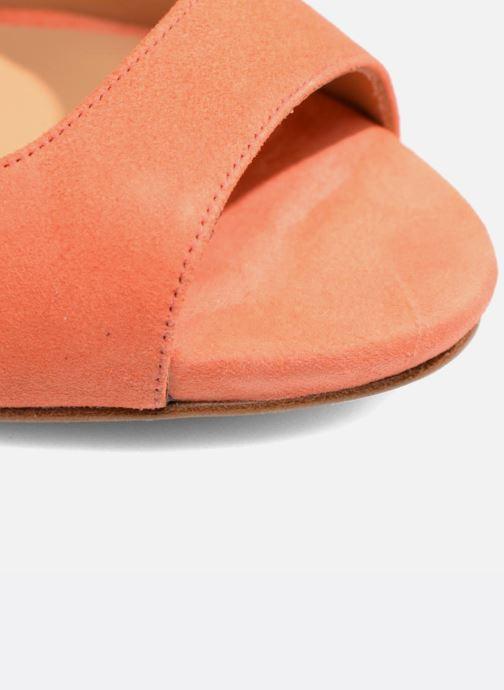 Sandalias Made by SARENZA Loulou au Luco #7 Naranja vista lateral izquierda