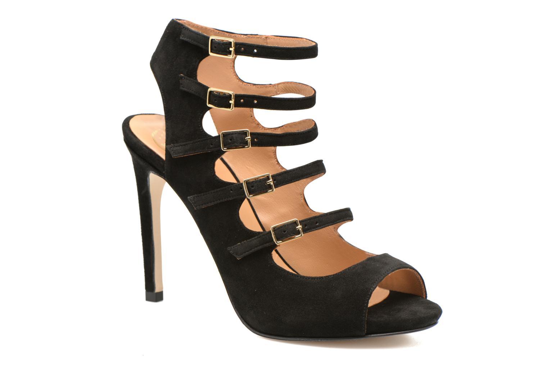 Sandales et nu-pieds Made by SARENZA Loulou au Luco #7 Noir vue droite