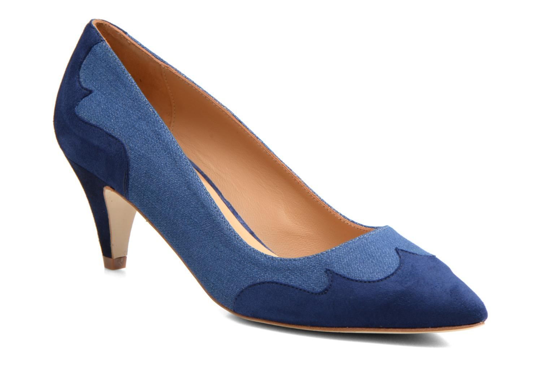 Escarpins Made by SARENZA Western Fever #2 Bleu vue droite
