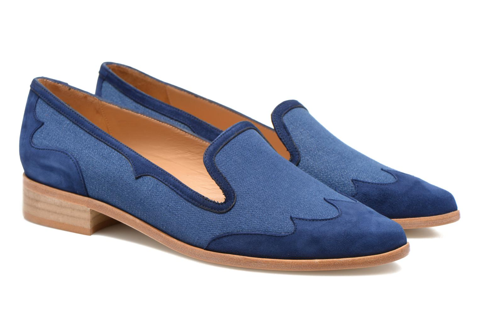 Loafers Made by SARENZA Seven Tease #1 Blue back view